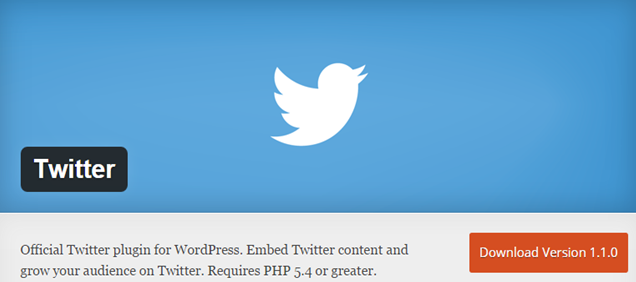 WordPress Twitter Plugin