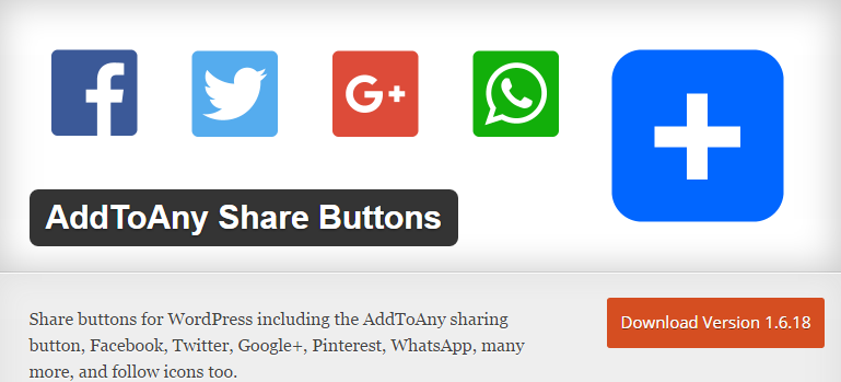AddToAny Share button