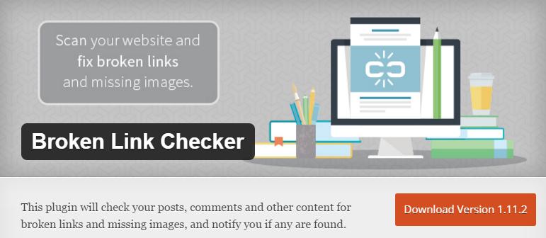WordPress plugin Broken Link checker