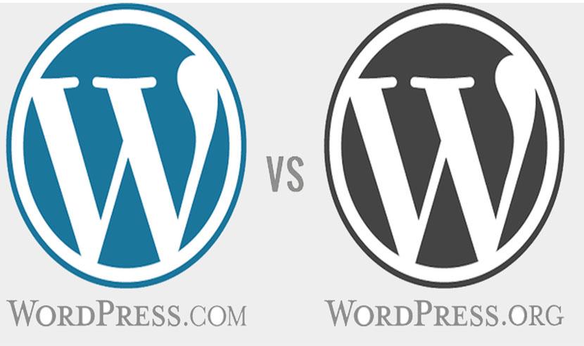 wordpress org and wordpress com