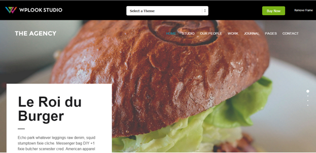WordPress Theme The agency
