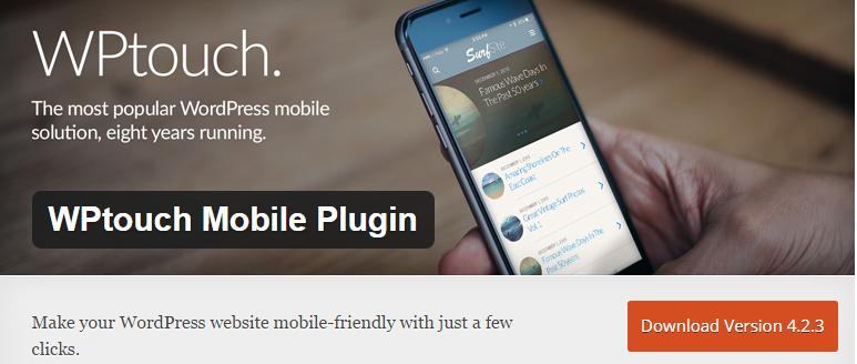 WordPress Plugin WPtouch