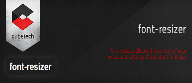 Font-resizer