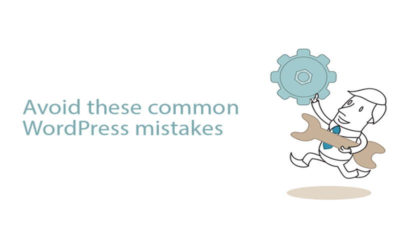 common mistakes in wordpress