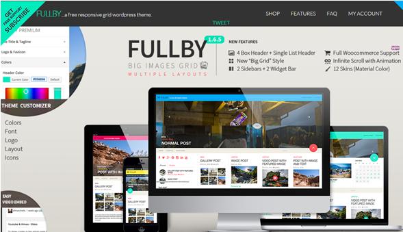 WordPress Theme Fullby