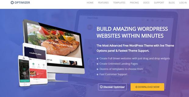 WordPress theme Optimizer