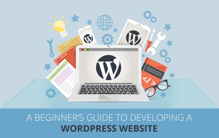 Developing WordPress website