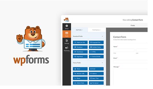 WordPress plugin WPForms