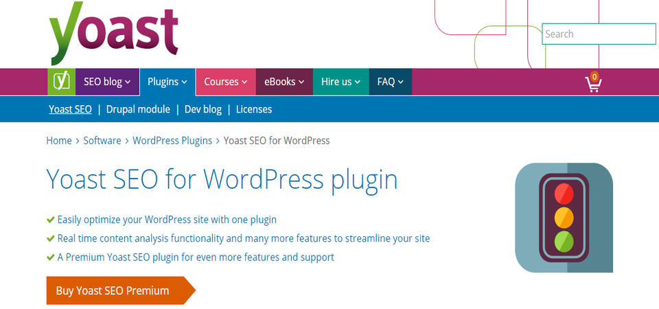 WordPress plugin Yoast-seo