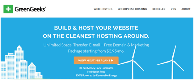 cleanest hosting company