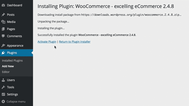 activate-woocommerce