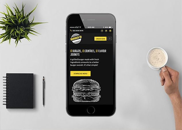 burger10 wordpress design and development