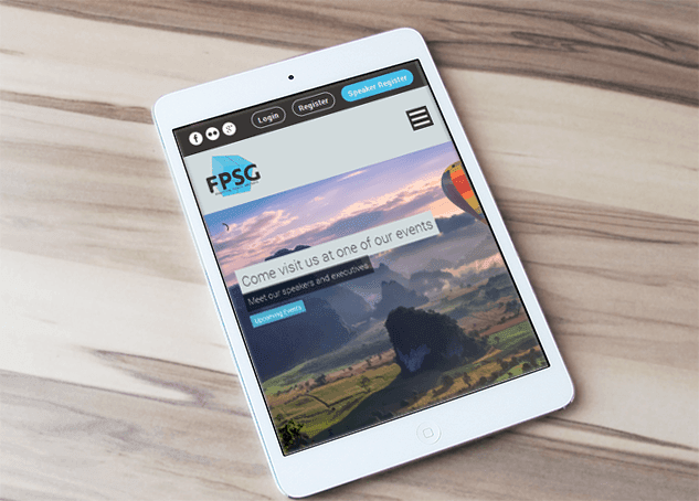 FPSG responsive wordpress design