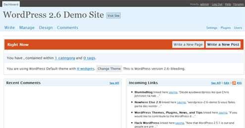 wordpress-2.6