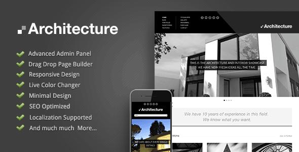 Architecture wp theme