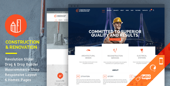 Construction–Construction Building Company