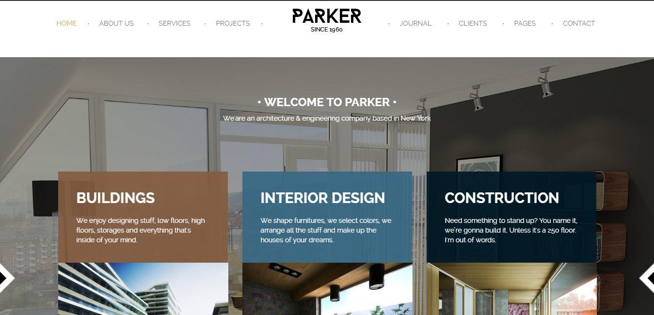 Parker-wp-theme
