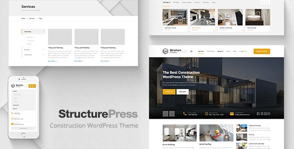 structurepress wp theme