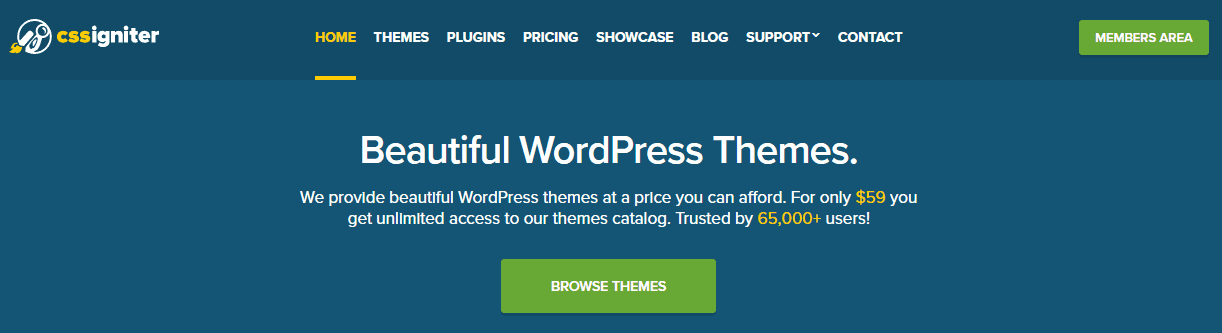 cssigniter wordpress theme