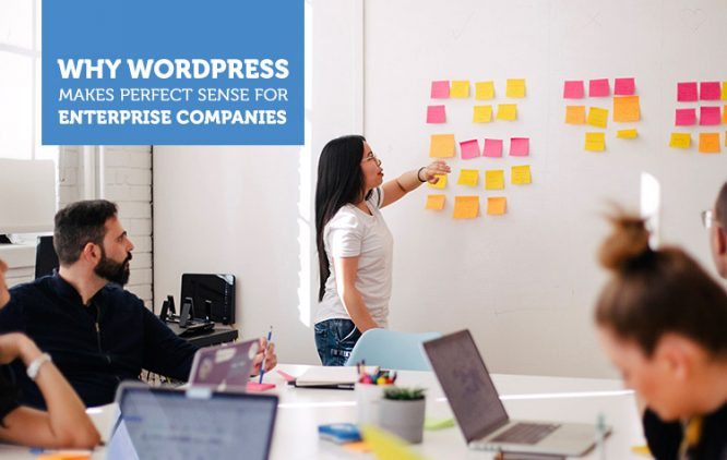 6 Reasons Why WordPress Is a Perfect Choice For Enterprise Companies