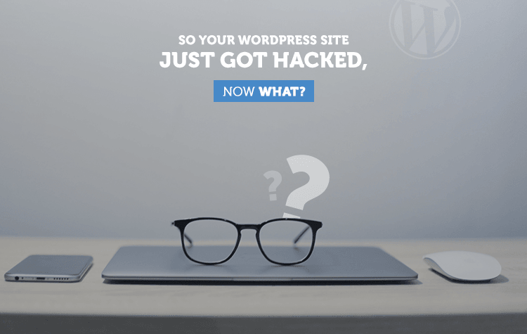 How can you recover your WordPress website if it is hacked?