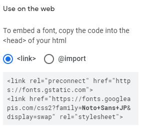embed font