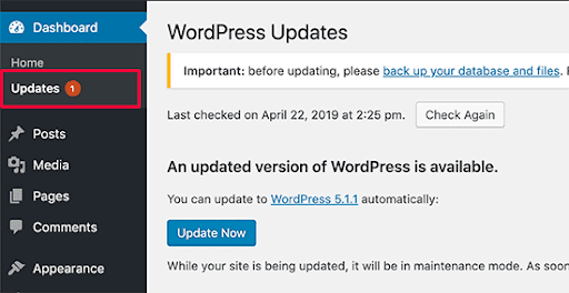 Always Keep Your CMS Updated